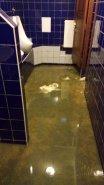 Následky ucpané kanalizace
