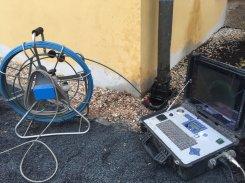 Revize kanalizace kamerou